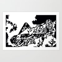 nightdream-women Art Print