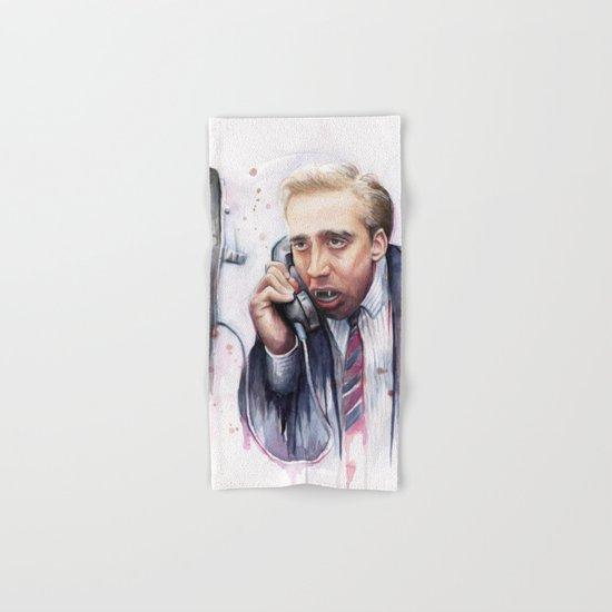 Nicolas Cage Hand & Bath Towel