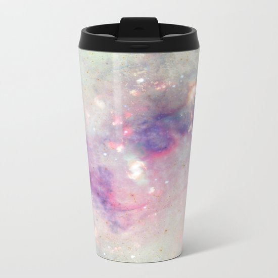 The colors of the galaxy Metal Travel Mug