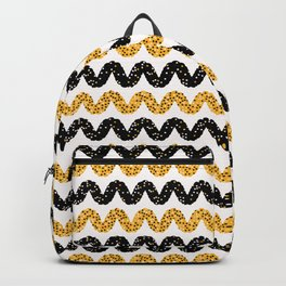 1960s Style Dot Stripes Backpack