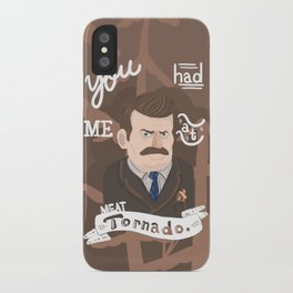 why watch (parks and recreaton) iPhone Case
