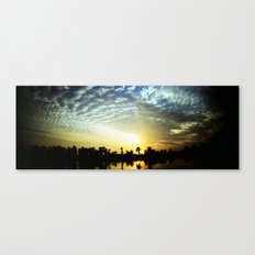 egipt sunset Canvas Print
