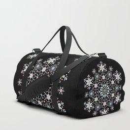 Snowflake Mandala Duffle Bag