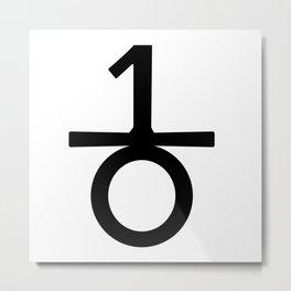 10 d E A T h b R E a s T Metal Print