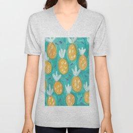 Fresh Pineapples Unisex V-Neck
