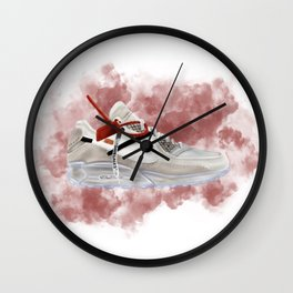 OFF WHITE MAX Wall Clock