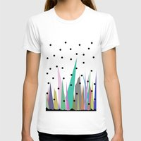 grass T-shirts featuring Grass by Olivia James