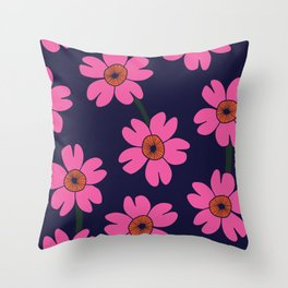 Blomst Throw Pillow