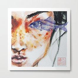 Fish - Eye Metal Print