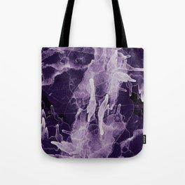 Microcosmos Blanco Tote Bag