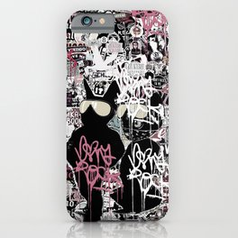 Lost in Graffitis and Stickers iPhone Case