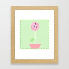 Flower A Framed Art Print
