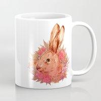 hare Mugs featuring Hare by batcii
