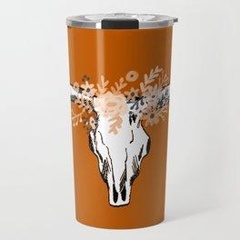 Texas University longhorns football college sports team fan Travel Mug