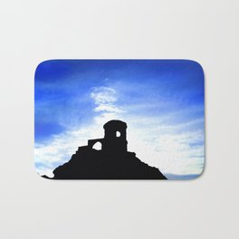 Mowcop Folly Sunst Silhouette Bath Mat