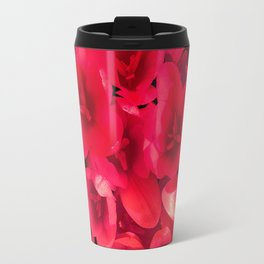 Red in the garden Travel Mug