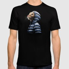 COOL CAT X-LARGE Black Mens Fitted Tee