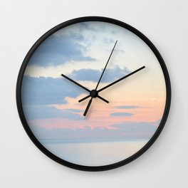 Rio Del Mar Sunset Wall Clock