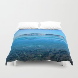 The Angara river Duvet Cover