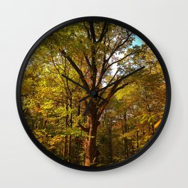 Old Oak Tree Wall Clock