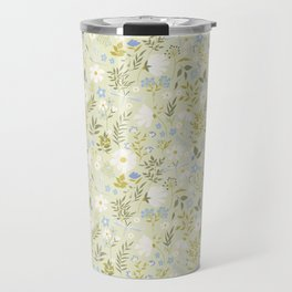 Daisies and Dragonflies (small scale) Travel Mug