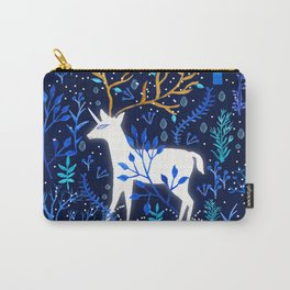 Deericorn In Blue Carry-All Pouch