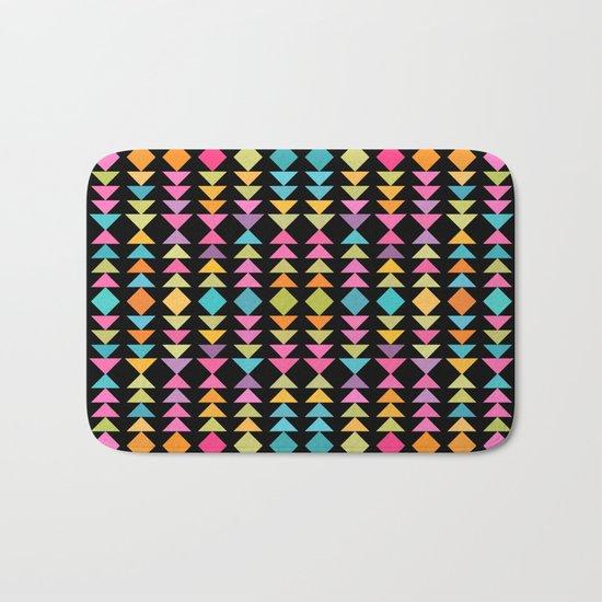 Lovely geometric Pattern VVII Bath Mat