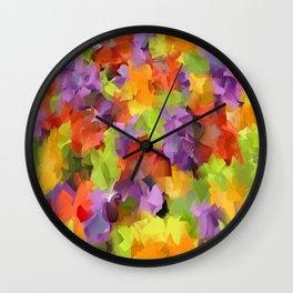 Kats Colors Wall Clock