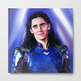 Loki - Ragnarok V Metal Print