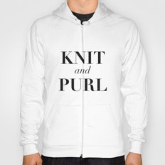 Knit & Purl Hoody