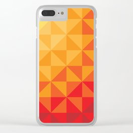 Tesselation Transfer Clear iPhone Case