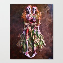 Conjoined Canvas Print