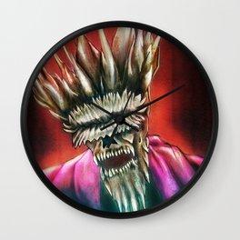 Zombie King Wall Clock