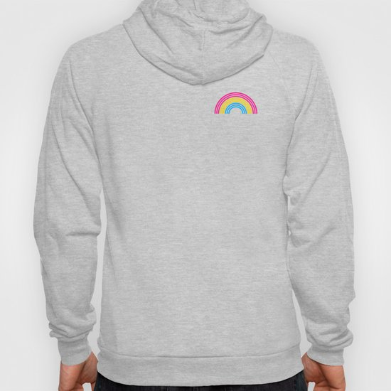 Pansexual Rainbow print LGBTQ Pride Gift Idea by phoxydesign