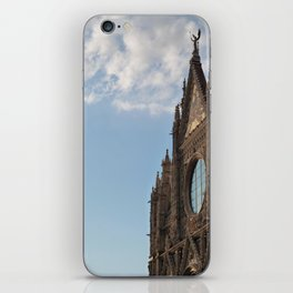 Siena cathedral at sunset iPhone Skin
