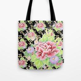 Kimono Bouquet Chintz Tote Bag