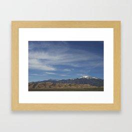 The Great Dunes Framed Art Print