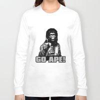 ape Long Sleeve T-shirts featuring Vintage Ape * Go Ape by Freak Shop | Freak Products
