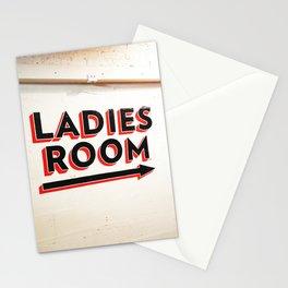 263. Ladies Room, New York Stationery Cards