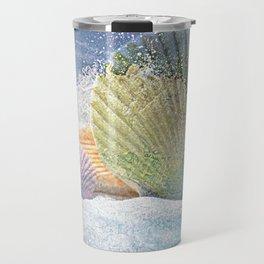 Subtle Sea Splash Travel Mug