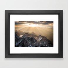 Bugaboo sunrise Framed Art Print