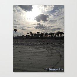 Beach Life Canvas Print