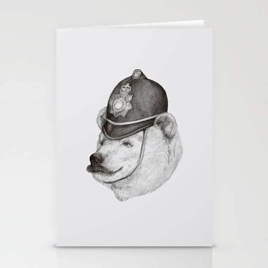 Bearly Legal Stationery Cards