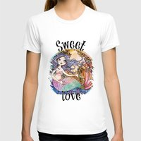 little mermaid T-shirts featuring Little Mermaid by Lidia Gennari