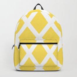Yellow Diamonds Backpack