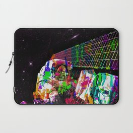 Psychedelic space walk Laptop Sleeve