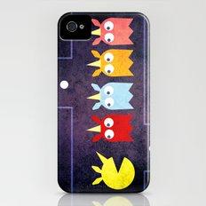 Pac Unicorn iPhone (4, 4s) Slim Case