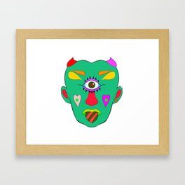 Cyclops love Framed Art Print