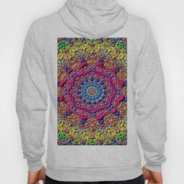 background fractals surreal Hoody