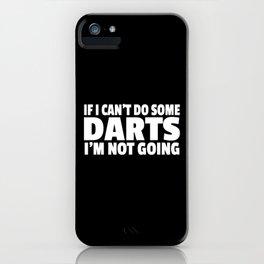 Dart Dartsplayer Gift Darting iPhone Case